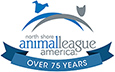 north shore animal league america Logo